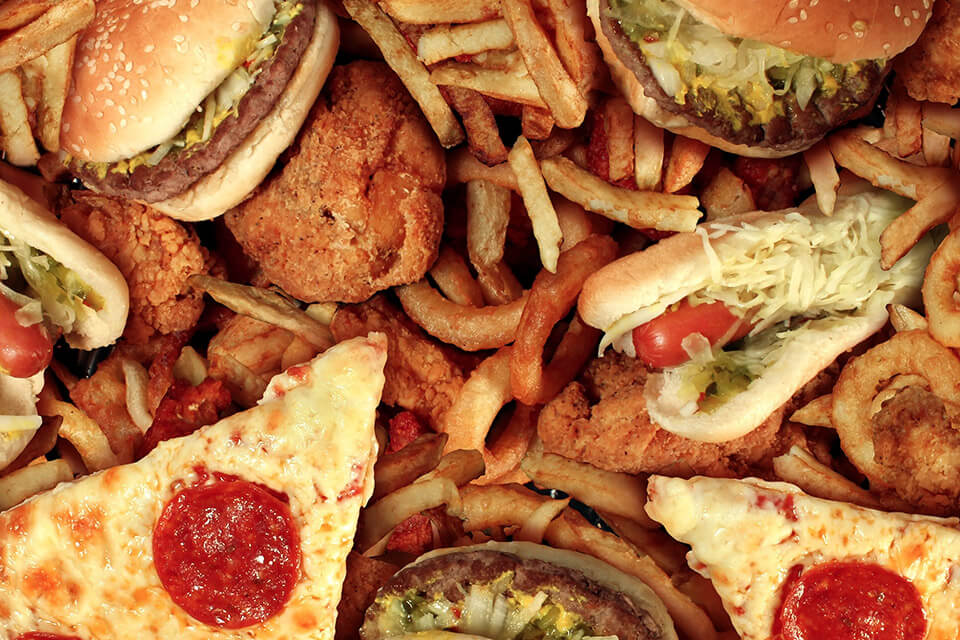 do not eat pizza on a low calorie diet