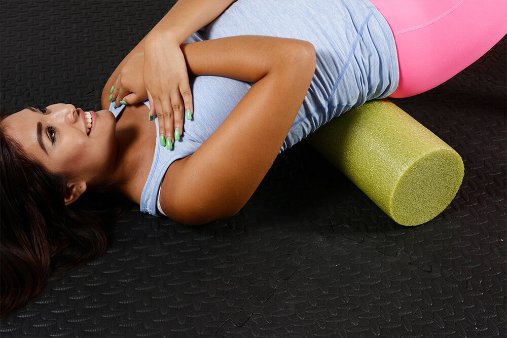 foam roll to reduce severe lower back pain