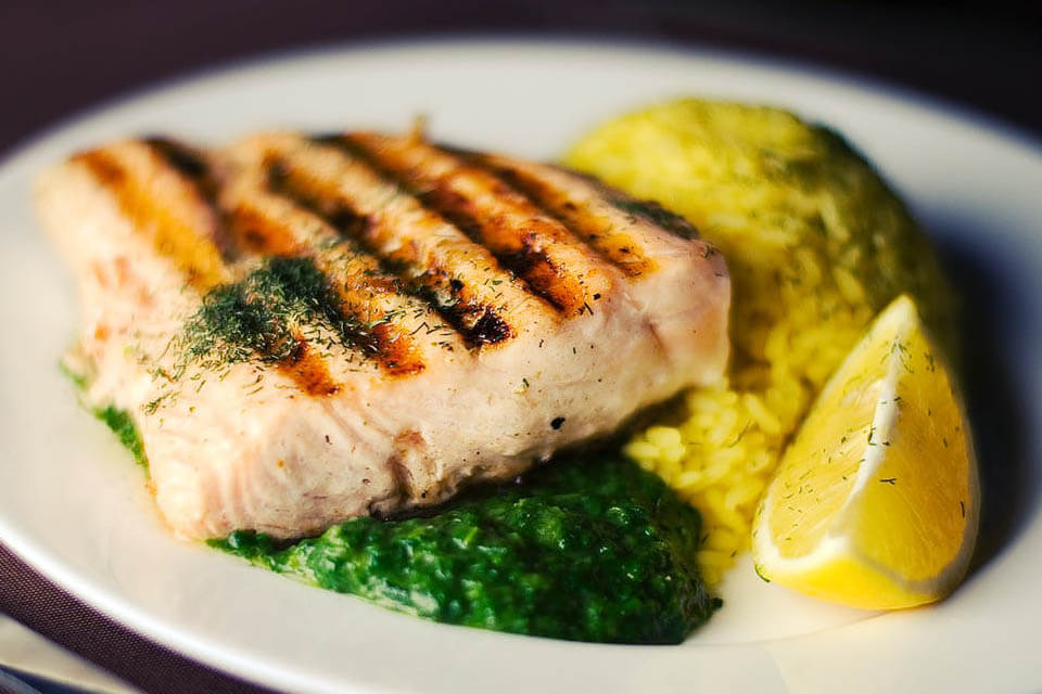 is salmon healthy?