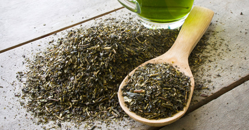 Green Tea can help promote healthy skin