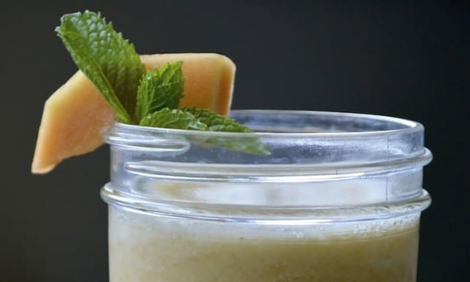 melon mint smoothie recipe